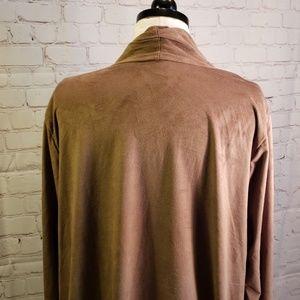 Avenue Sweaters - ■ Avenue■ (18/20) Sueded Cardigan
